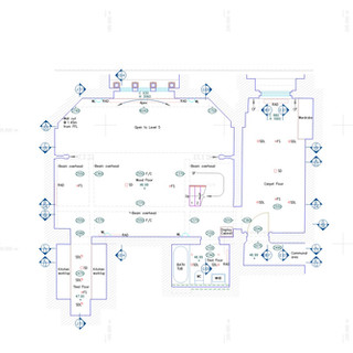 Floor Plan in St Pancras Chambers
