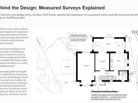 Measured Building Surveys Explained