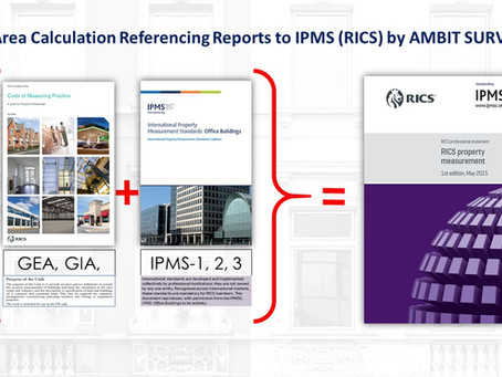 Area Calculation Referencing Reports to IPMS (RICS) by Chartered Surveyors from Ambit Surveys