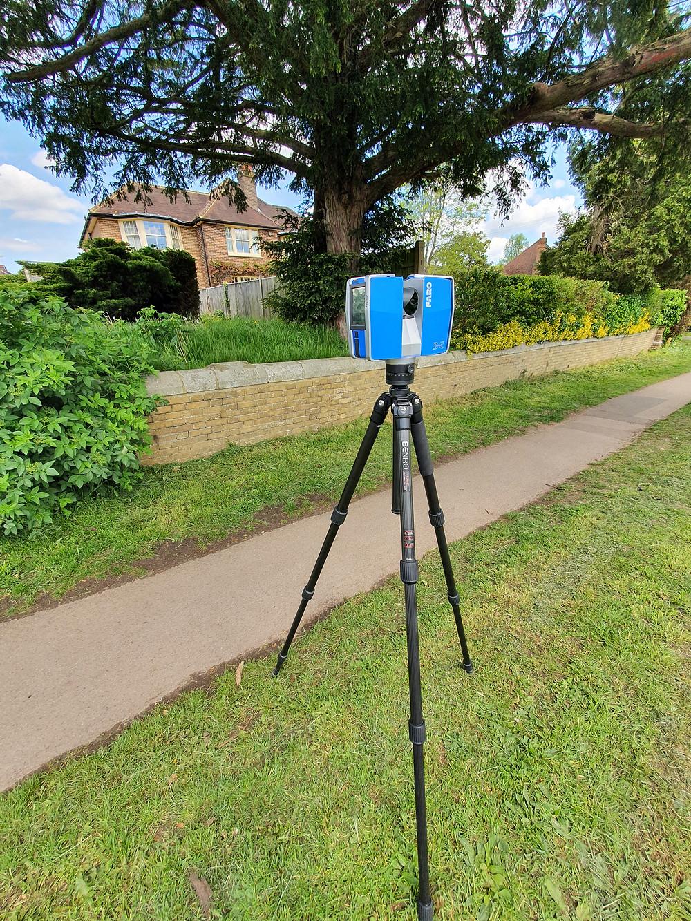 Laser Scanner Faro 330 to measure properties