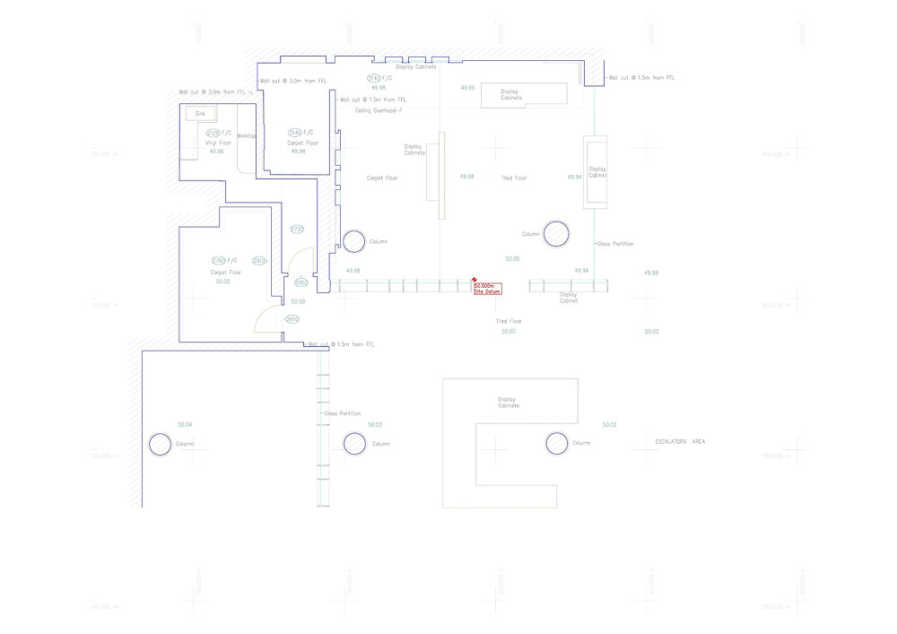 Accurate 2D Reflected Ceiling Plan