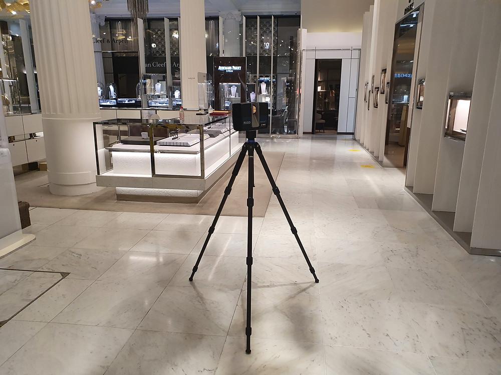 2D Reflected Ceiling Plan by Ambit Surveys