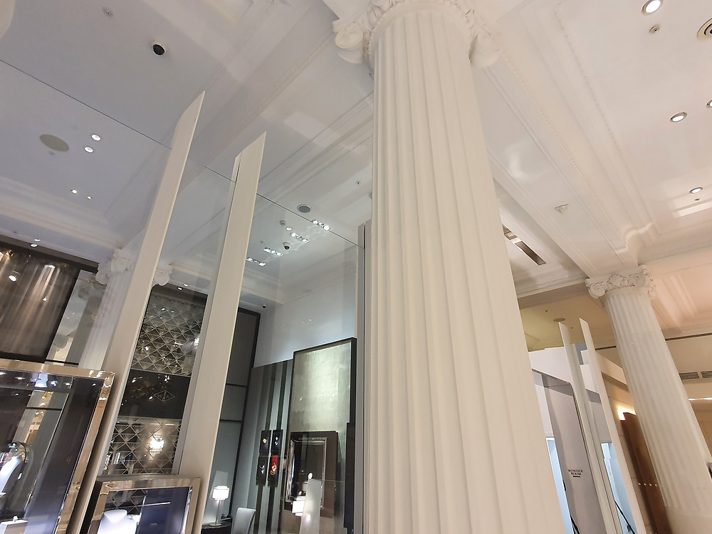 2D Reflected Ceiling Laser Scanning Point Cloud Measured Data