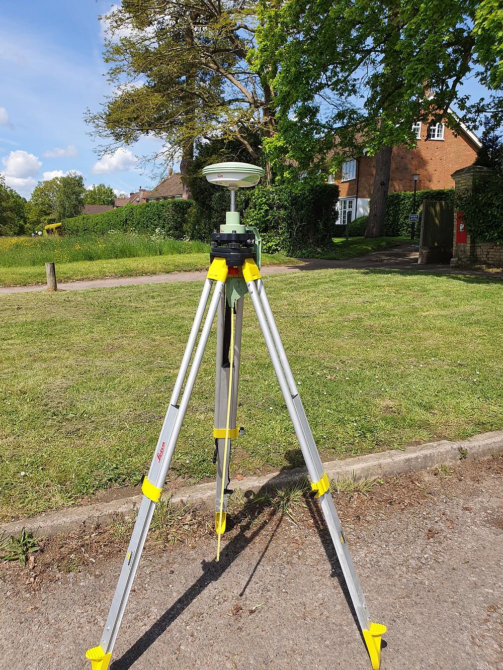 GPS GNSS Measurements of Control Points by Ambit Surveys