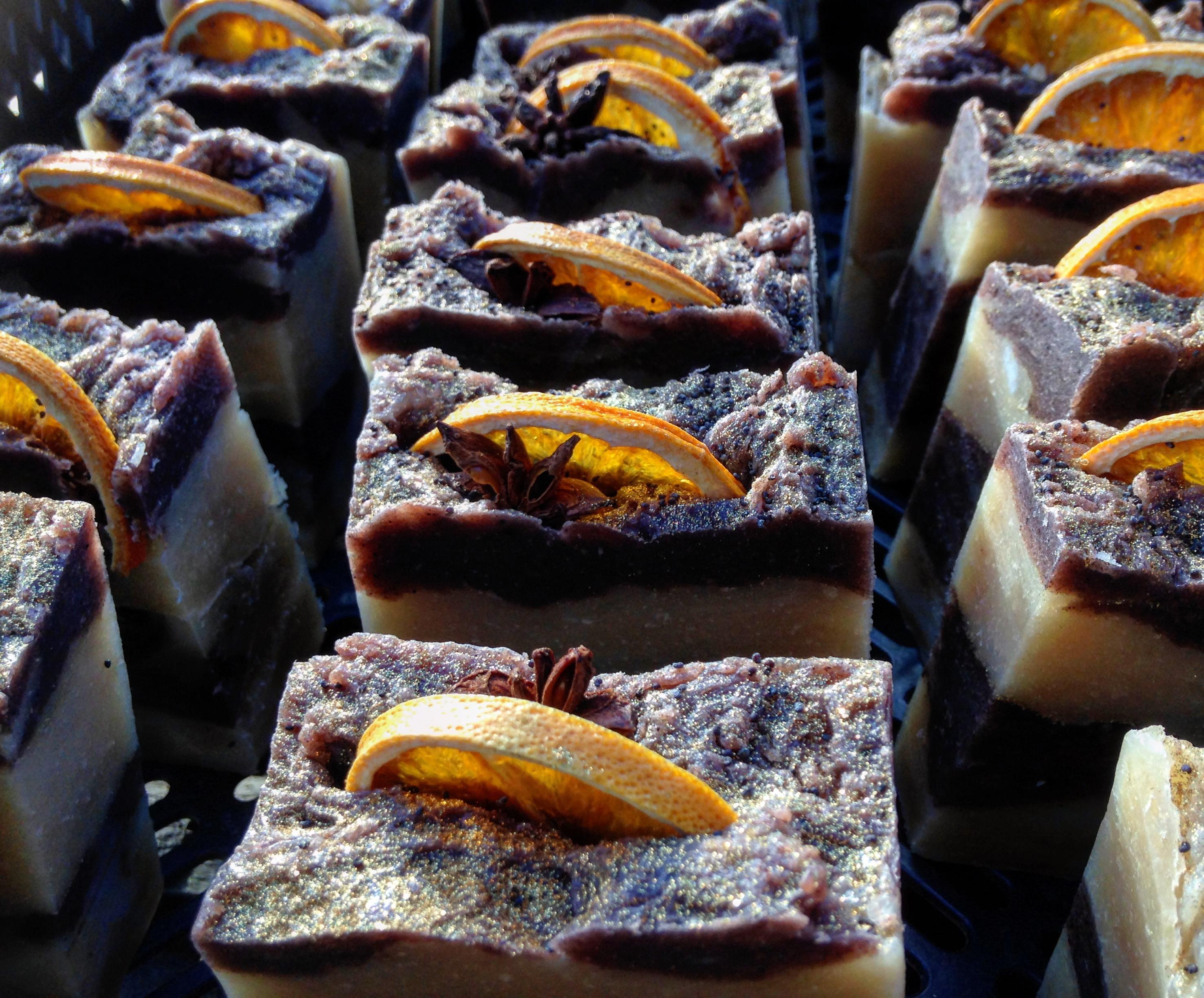 Cinnamon and Chocolate Orange Bar