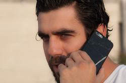 SO STONE BLACK MARBLE  IPHONE 6 CASE