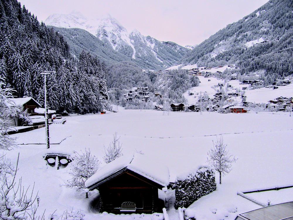 Vistas desde el Hotel Gutshof Zillertal