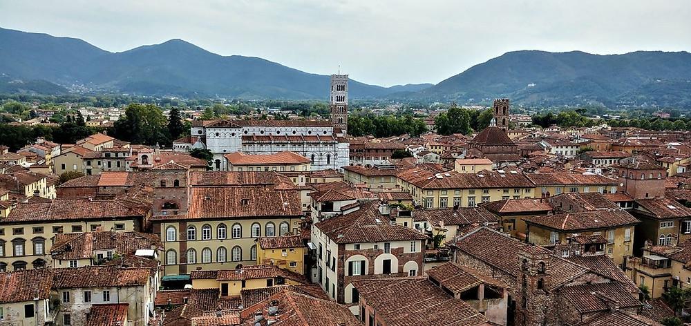 Lucca desde la Torre Guinigi