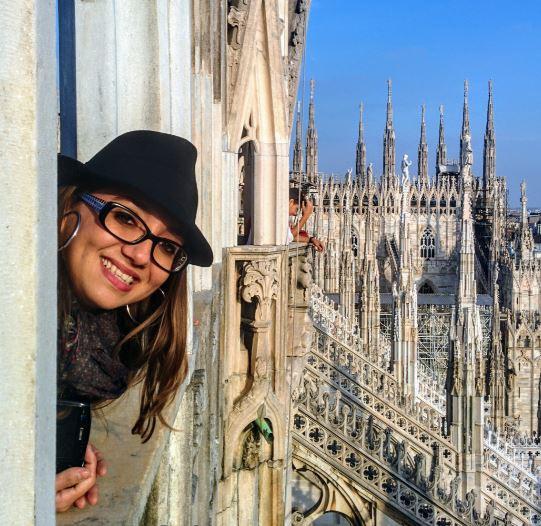 Lo mejor de la Catedral de Milán fueron las vistas desde su terraza