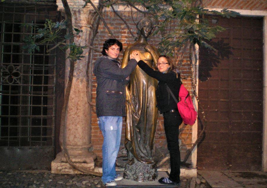 La casa de Julieta es uno de los lugares más concurridos de Verona
