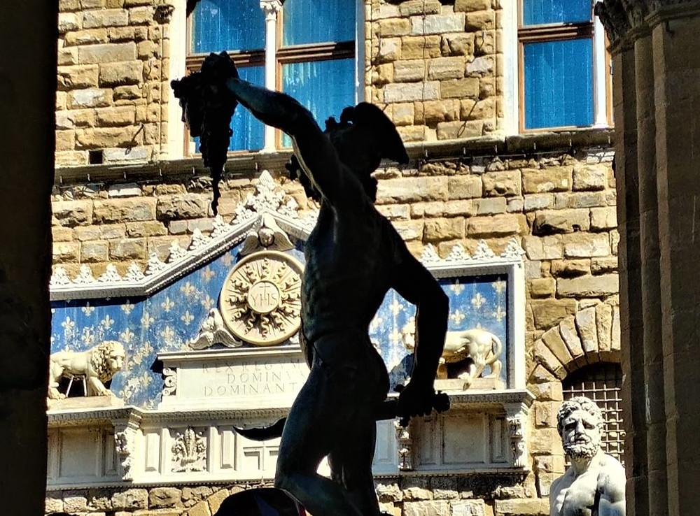 Estatuas de la Plaza de la Señoría