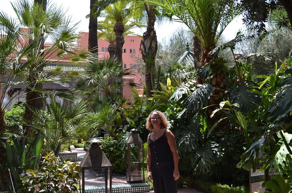 Después de pasar por el hammam nos fuimos a visitar el Hotel La Mamounia