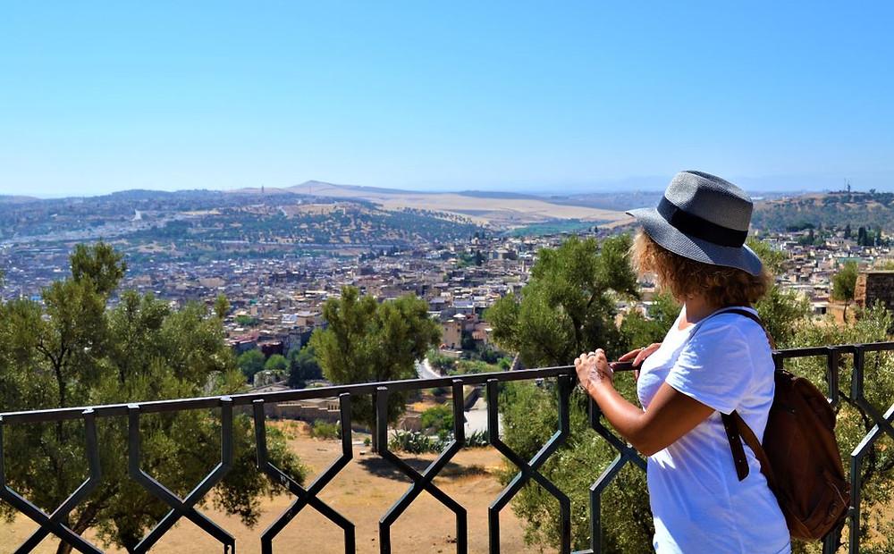 Las vistas de Fez desde Borj Nord son muy recomendables