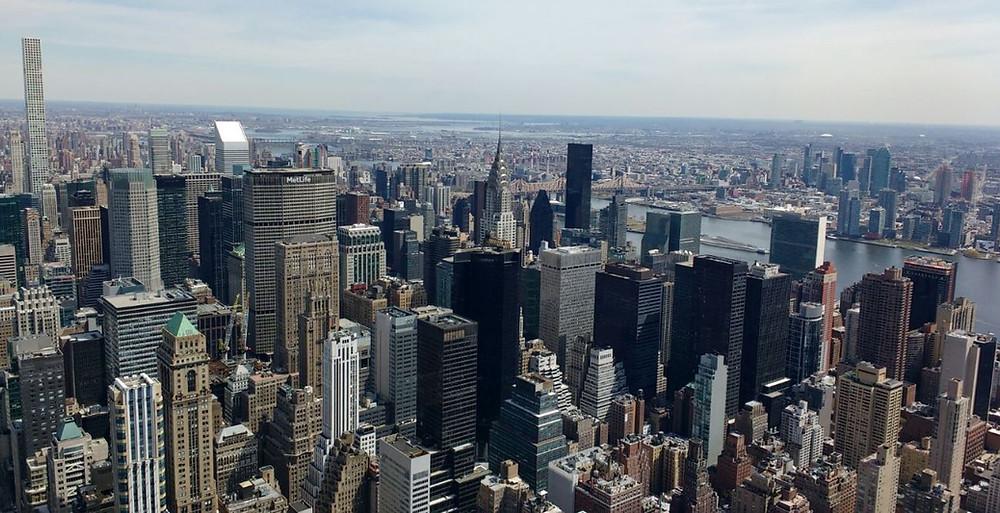 El Empire State nos sorprendió tanto por las vistas como por su bonito interior