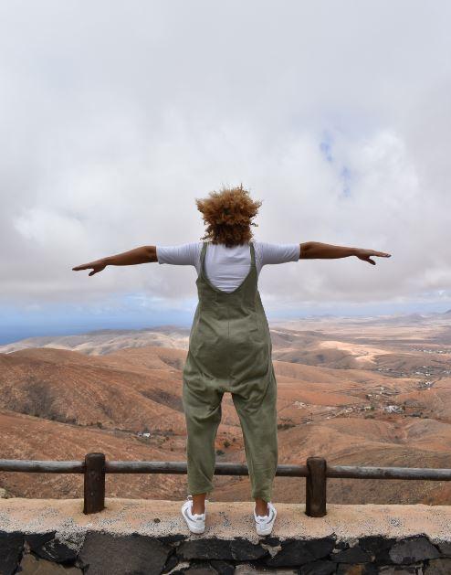 Desde el Mirador de Guise y Ayose se puede ver media Fuerteventura