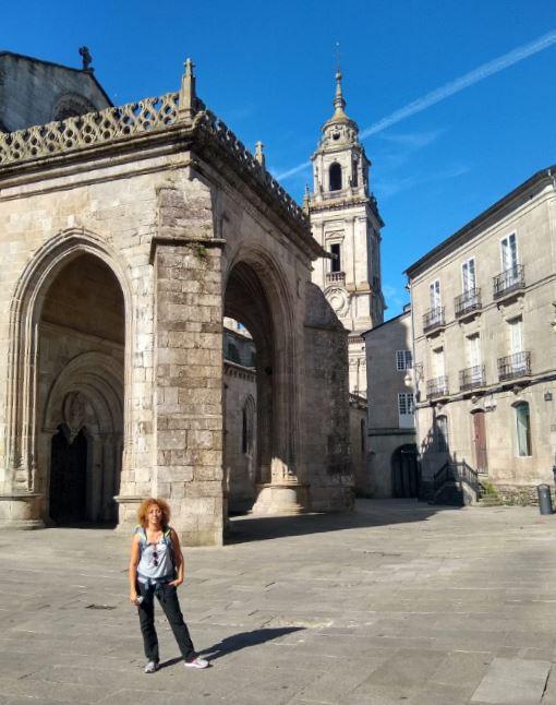 Fue muy rápida la visita, pero nos encantó el centro de Lugo