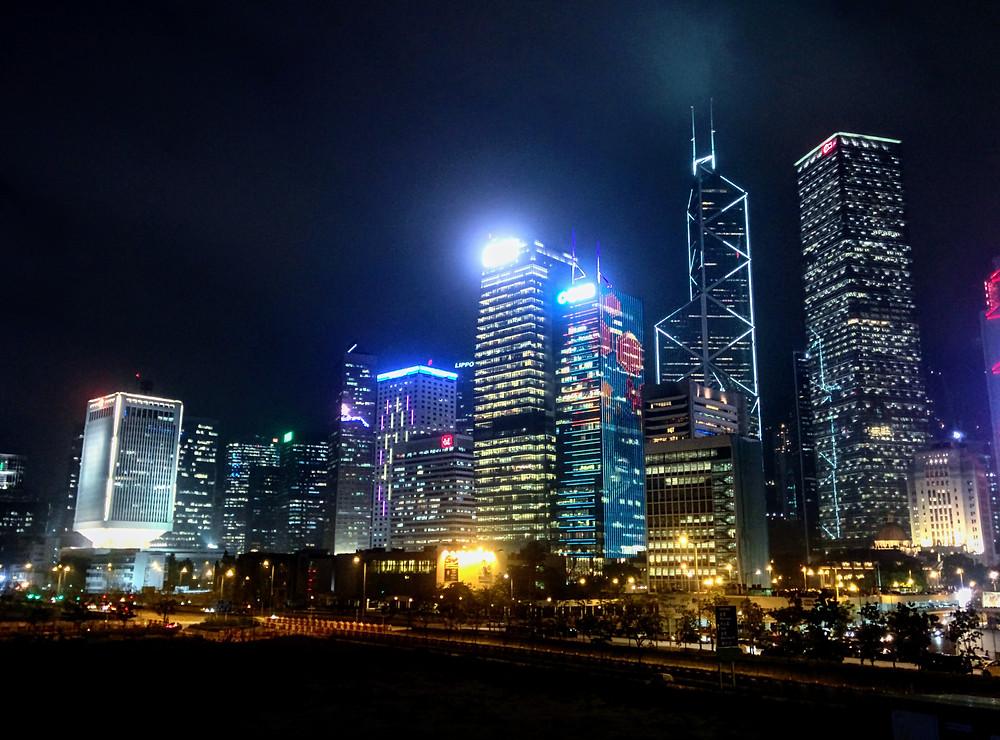 Vistas de Hong Kong desde el Star Ferry Pier