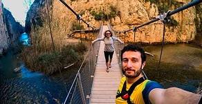 Senderismo en los puentes colgantes de Chulilla