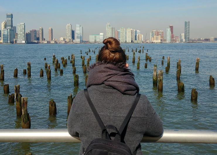 Un paseo por el Hudson River Park nos vino genial para relajarnos