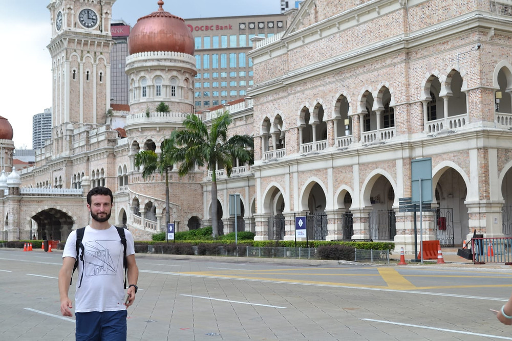 Dataran Merdeka y el Edificio Sultán Abdul Samad