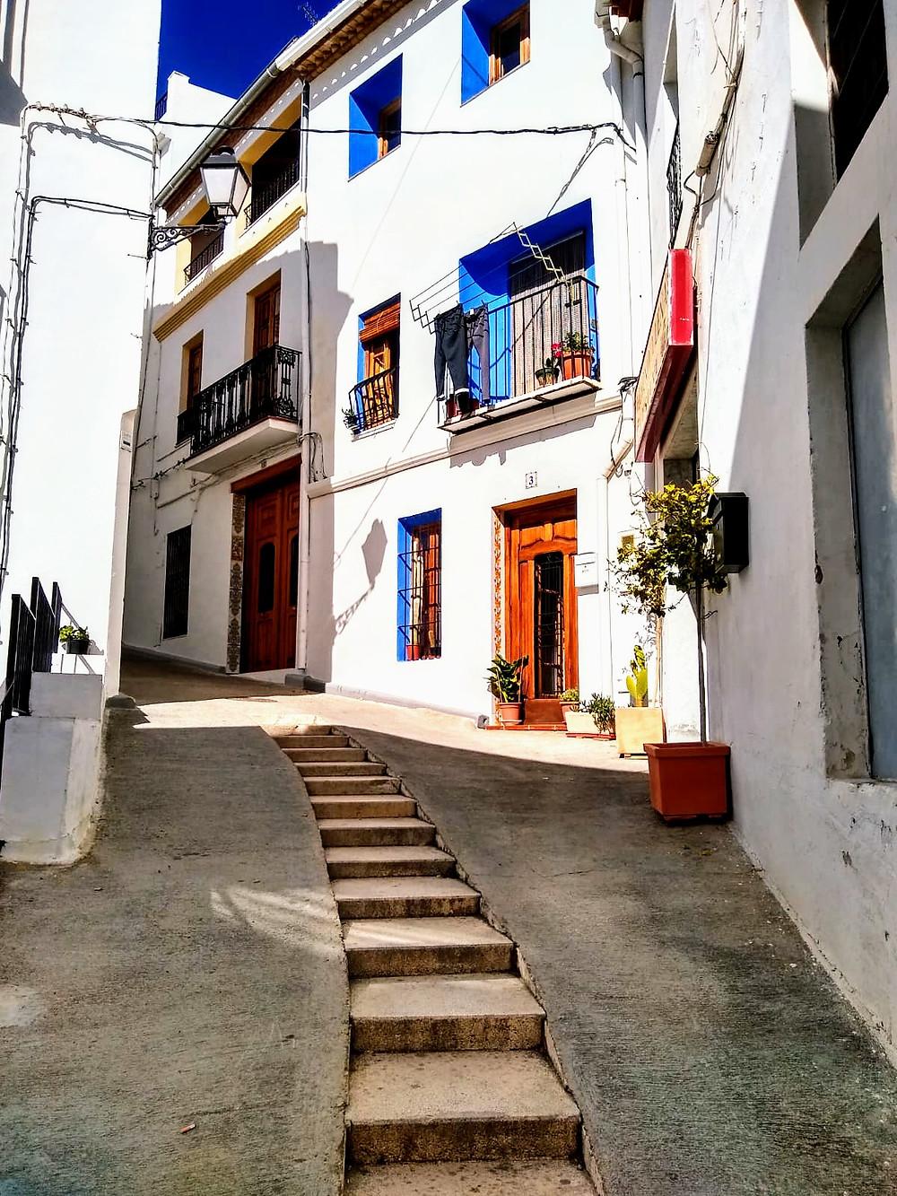 Las calles de Chulilla, Valencia