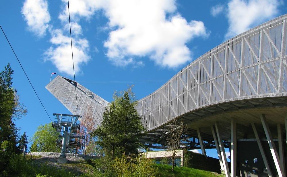 El salto de esquí de Holmenkollen