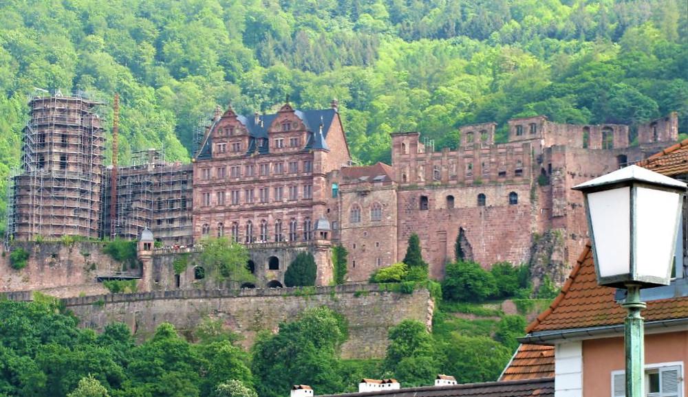El Castillo de Heidelberg se puede ver desde casi cualquier punto de la ciudad