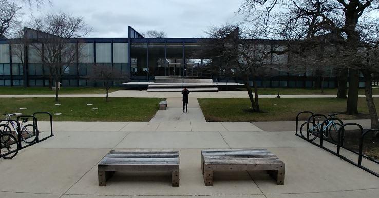 El Crown Hall es el edificio más importante del Illinois Institute of Technology