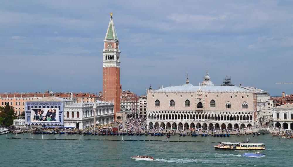 Entrar en Venecia a bordo de un crucero fue una experiencia irrepetible