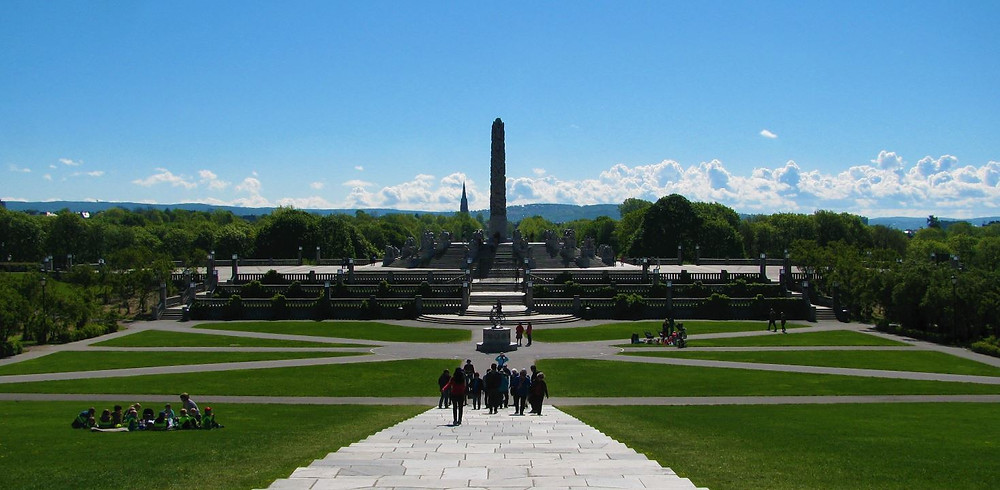 El Parque de Vigeland fue nuestra primera parada en Oslo