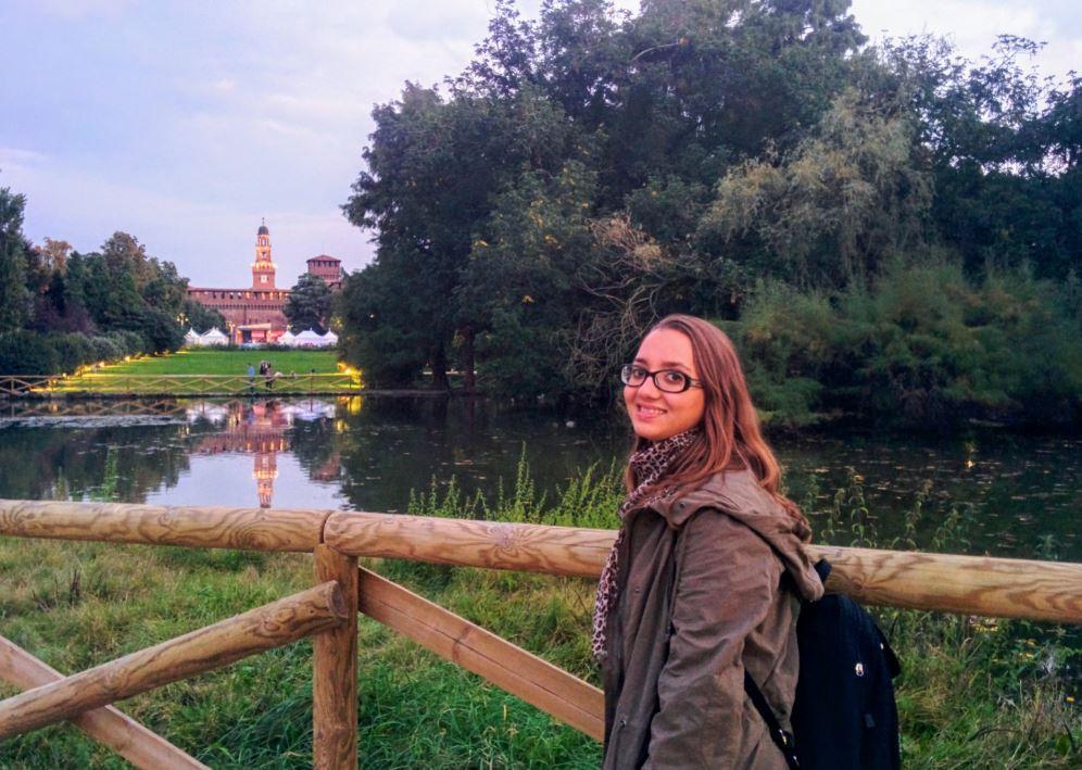 Pasear por el Castello Sforzesco fue un planazo