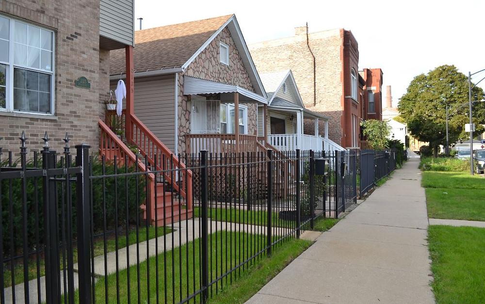Nuestra casa en Chicago era súper tranquila