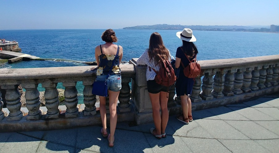 Vistas al mar en Gijón