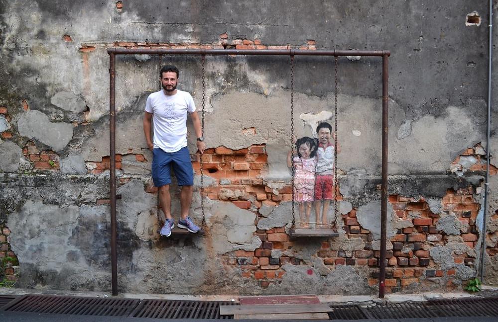 El arte callejero es uno de los principales atractivos de Ipoh y Penang