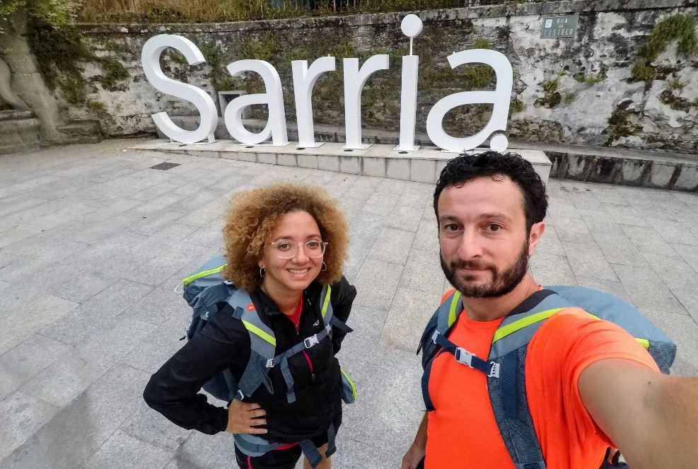 Sarria fue el punto de partida de nuestra aventura