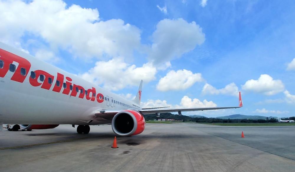 El vuelo interno con Malindo Air nos salió tirado de precio