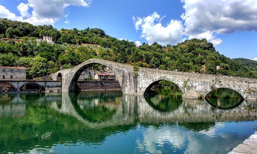 El Puente de la Magdalena, cerca de Lucca