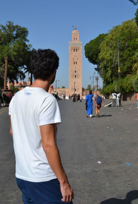 La Koutoubia es la mezquita más importante de Marrakech