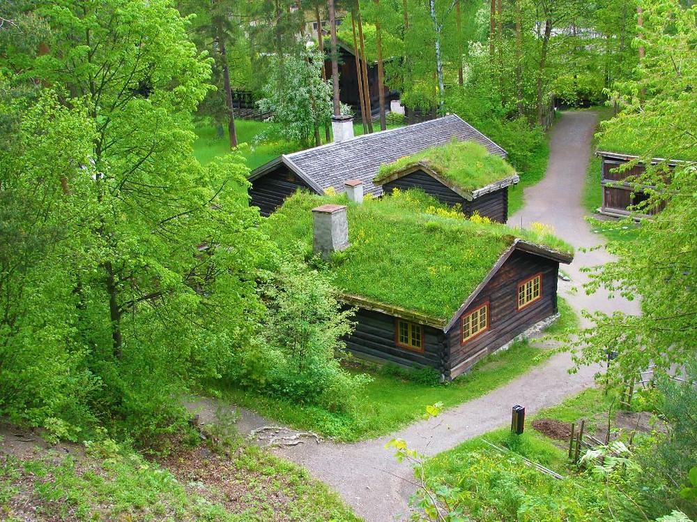 El Museo Folklórico Noruego es una preciosa exposición de más de 150 casas