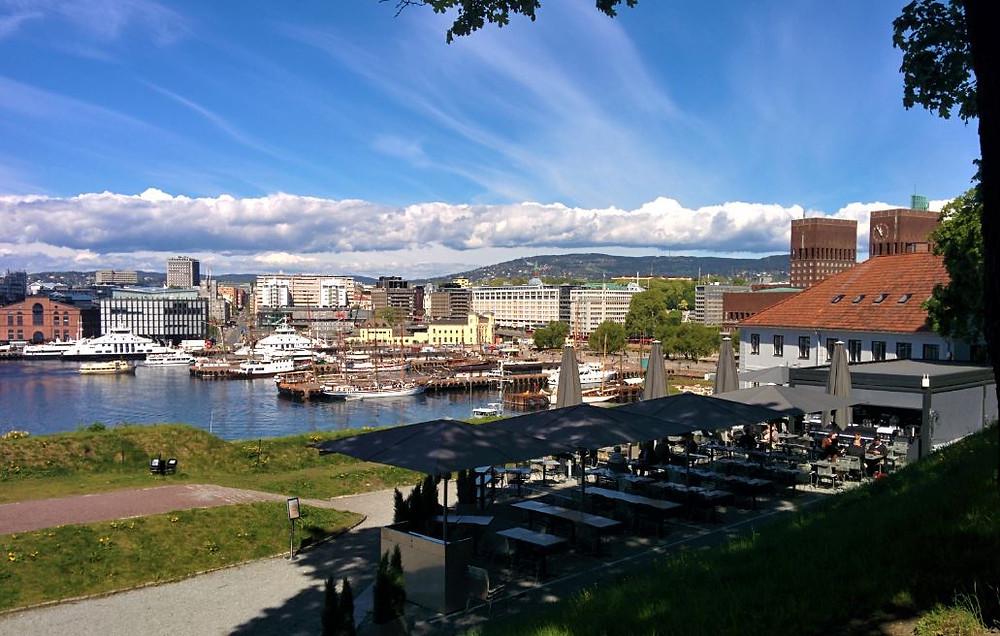 Oslo tieme muchos parques desde los que las vistas de la ciudad son espectaculares