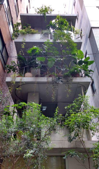 House & Garden es un oasis rodeado de enormes edificios