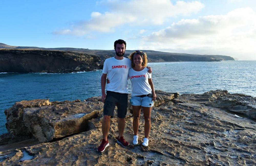 Fuerteventura nos fue enamorando poco a poco