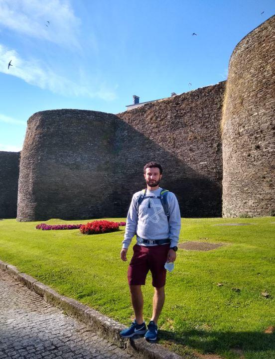 Aprovechamos un breve paso por Lugo para conocer la Muralla Romana