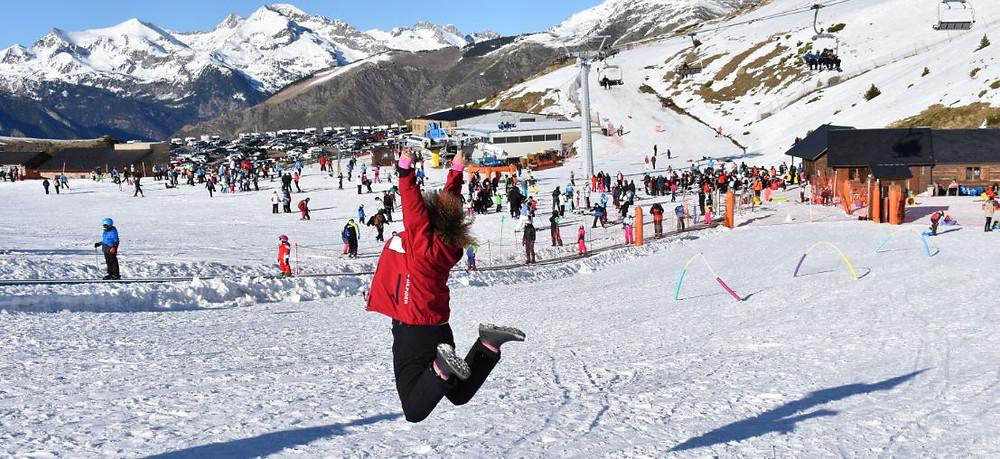 Nos gustó mucho la estación de esquí de Boi-Taüll