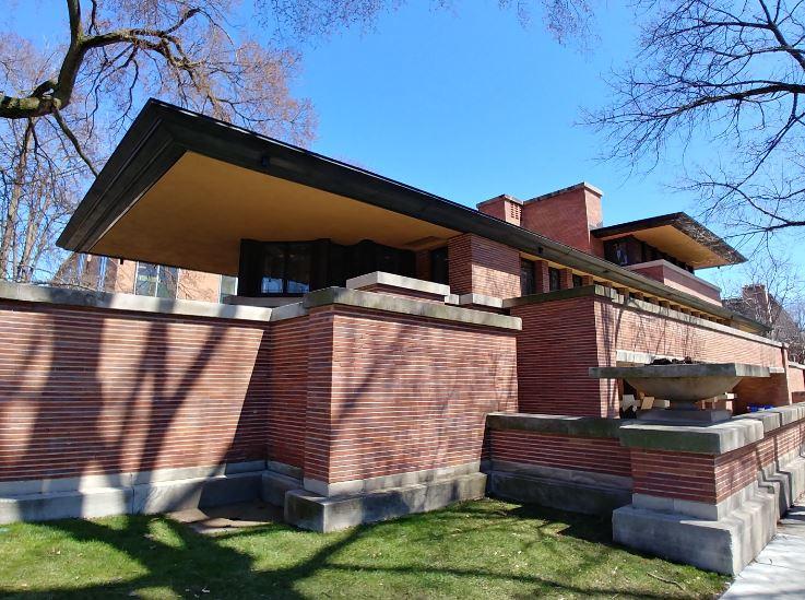 La Robie House, de Frank Lloyd Wright