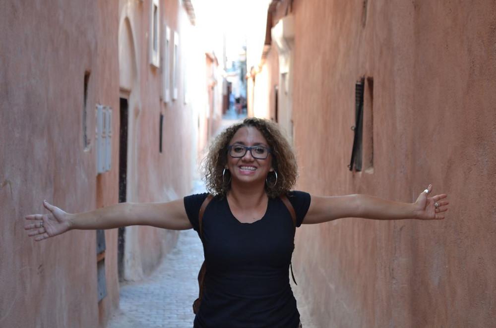 Merece la pena perderse por los callejones del barrio judio de Marrakech, el Mellah