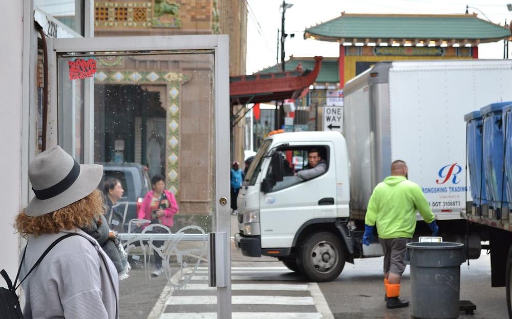 En Chinatown vimos cosas que nunca hubiéramos esperado en Chicago