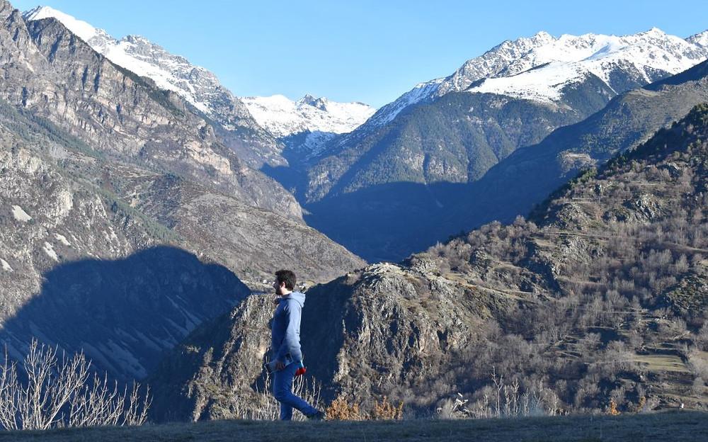 El Mirador de Sant Quirc de Durro es uno de esos lugares mágicos que uno se encuentra de vez en cuando