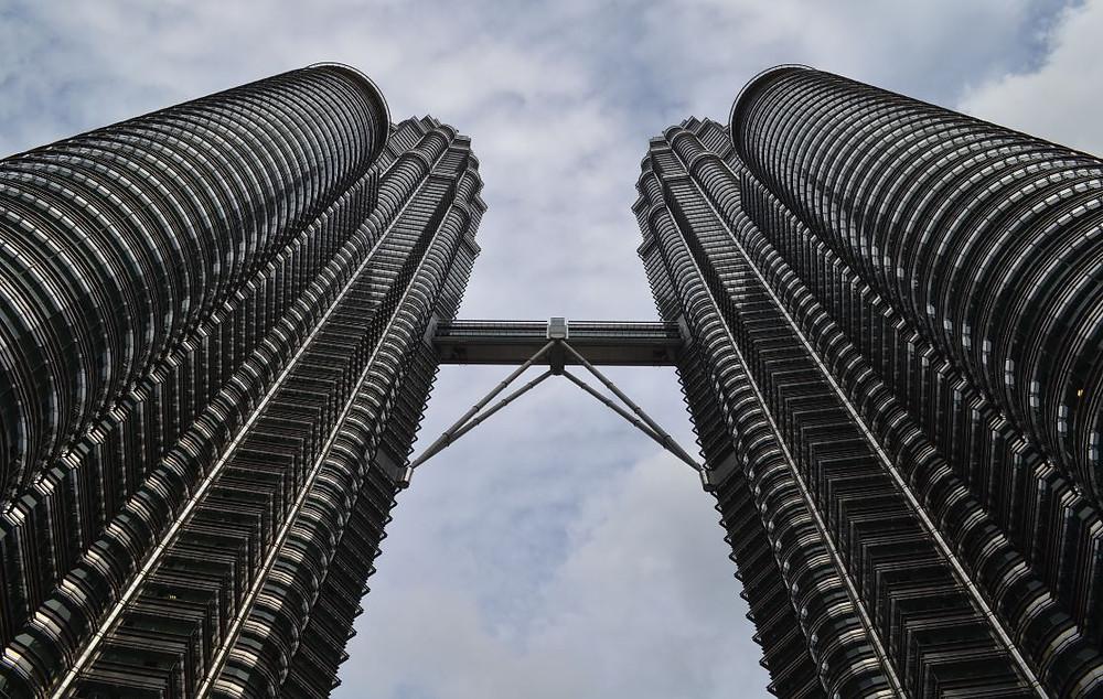 Las Torres Petronas, uno de los símbolos de la capital de Malasia