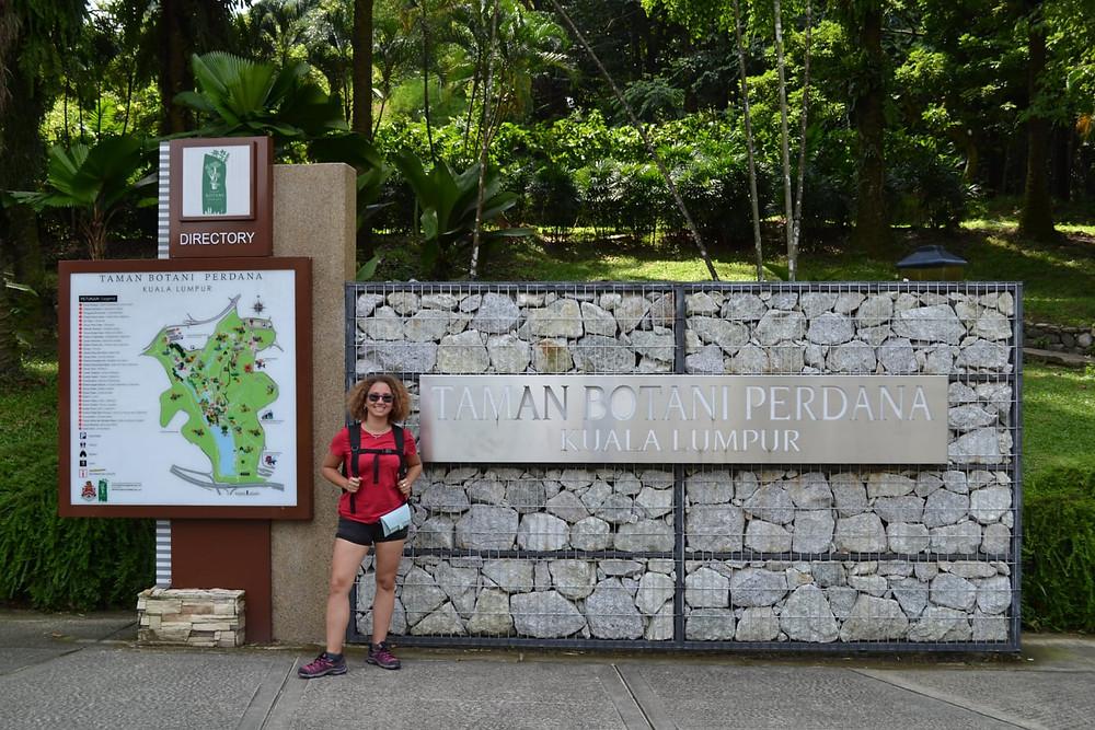 Nos encantó el Jardín Botánico de Kuala Lumpur